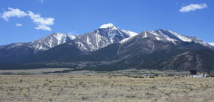 Mt Princeton near Buena Vista